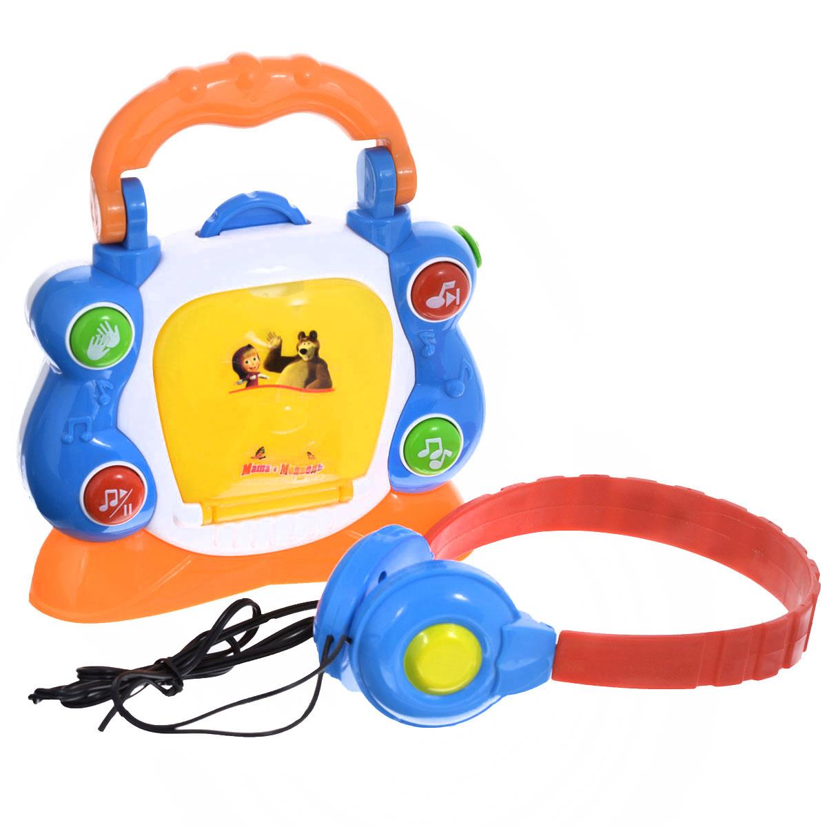 Музыкальная игрушка Играем вместе Электронный CD-плеер плеер explay t35tv