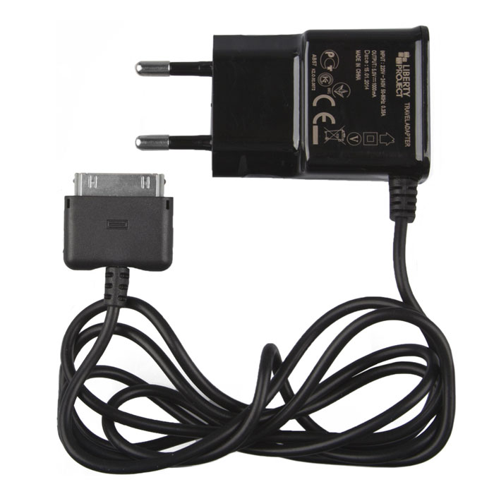 Liberty Project зарядное устройство 1 А для Apple 30 pin liberty project дата кабель apple 30 pin коробка