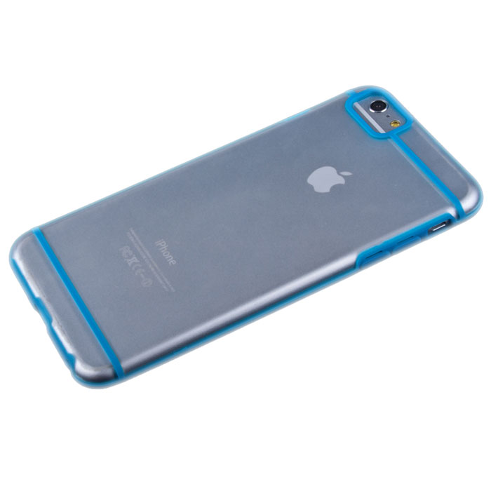 Liberty Project защитная крышка для iPhone 6 Plus, Light Blue Striped Clear liberty project чехол для apple iphone 6 6s blue