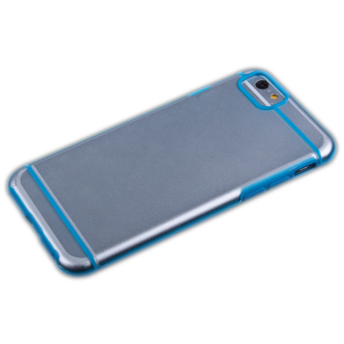 Liberty Project защитная крышка для iPhone 6, Blue ClearR0006699Защитная крышка Liberty Project для iPhone 6 защитит ваш гаджет от механических повреждений. Чехол имеет свободный доступ ко всем разъемам и клавишам устройства.
