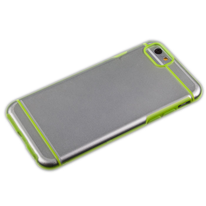 Liberty Project защитная крышка для iPhone 6, Green Striped Clear liberty project android a55 green картридер