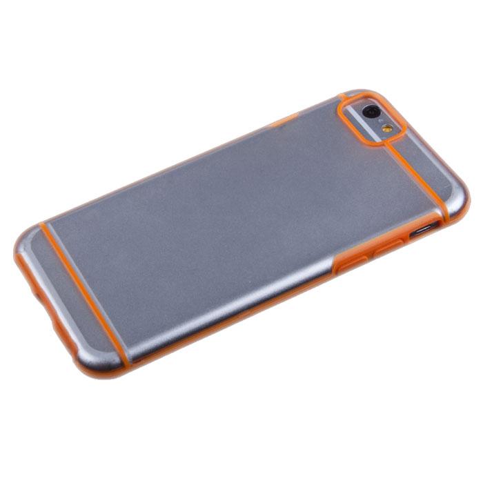 Liberty Project защитная крышка для iPhone 6, Orange StripedR0006701Защитная крышка Liberty Project для iPhone 6 защитит ваш гаджет от механических повреждений. Чехол имеет свободный доступ ко всем разъемам и клавишам устройства.