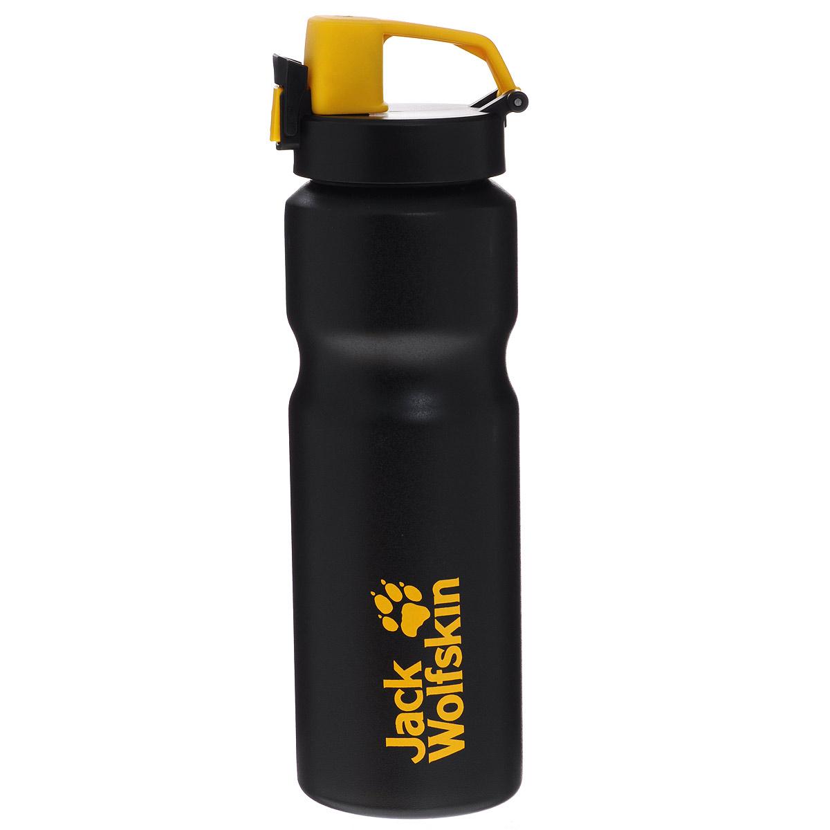 Бутылка Jack Wolfskin Sport Bottle Grip, 0,75 л8001401-6000Бутылка Jack Wolfskin Sport Bottle Grip изготовлена из высококачественной нержавеющей стали. Благодаря текстурному покрытию с внешней стороны ее можно надежно удерживать даже в перчатках, корпус с рельефной выемкой обеспечивает дополнительный комфорт. Бутылка специально предназначена для активных видов спорта, клапан открывается быстро одной рукой. Горлышко широкое, что очень удобно при заполнении и чистке. Материалы, из которых сделана бутылка, не вступают в реакцию с жидкостью, поэтому напитки сохраняют свой вкус и аромат. Бутылка очень компактная, ее можно взять с собой, куда угодно: на тренировку, в поход, на работу или на пикник. С помощью специального отверстия ее легко можно закрепить на рюкзаке с багажом. Высота бутылки: 25,5 см. Диаметр основания: 7,5 см.