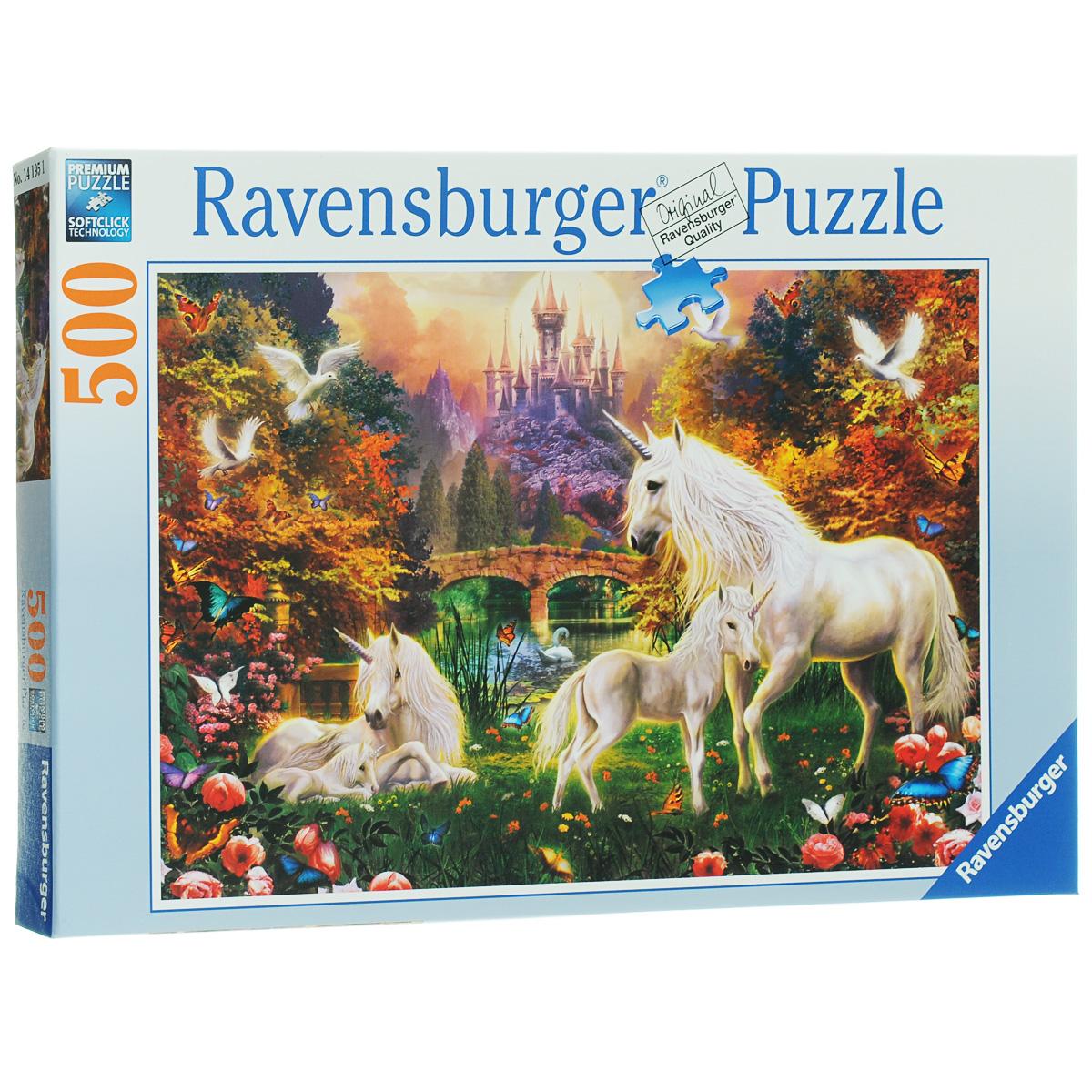 Ravensburger Волшебные единороги. Пазл, 500 элементов