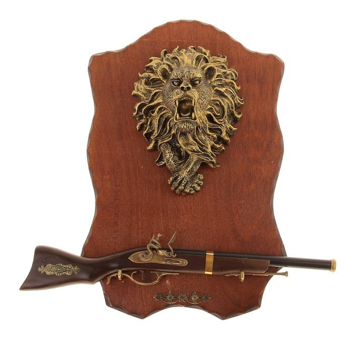 Сувенирное оружие Sima-land Ружье, на планшете, длина 58 см какое ружье лучше для охоты
