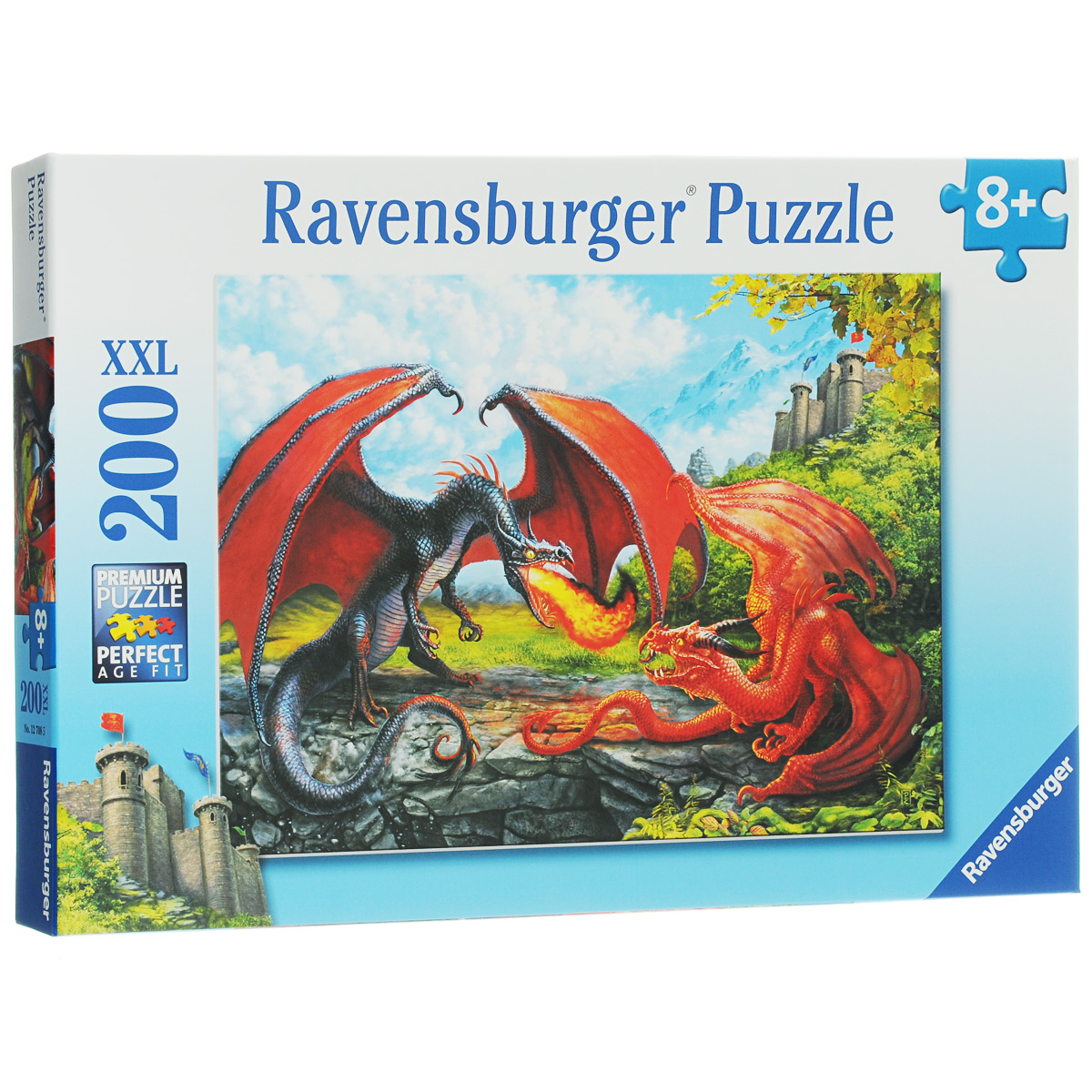 Ravensburger Битва драконов. Пазл XXL, 200 элементов