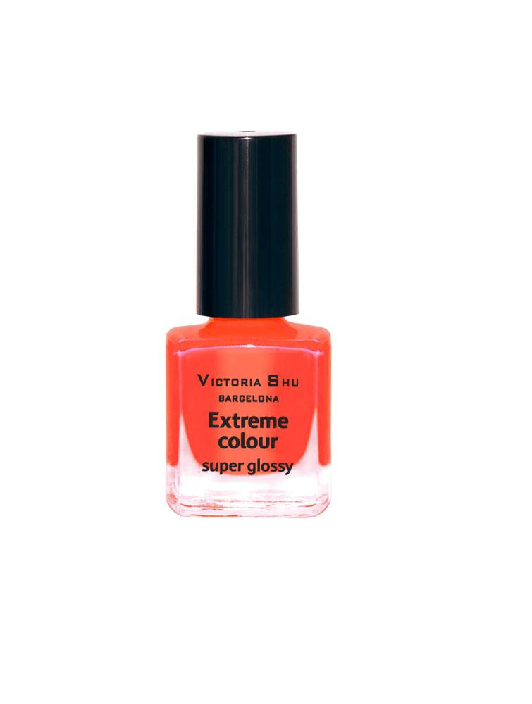 Victoria Shu Лак для ногтей Extreme Colour, тон № 227, 6 мл547V15126EXTREME COLOUR от VICTORIA SHU – это 35 ярких, смелых, соблазнительных оттенков. Модный тренд – матовая, насыщенная текстура. Любые цвета – на любой вкус, от нежных пастельных, интенсивных супермодных оранжевых, лиловых и оттенков фуксии до сенсационных красного и черного.
