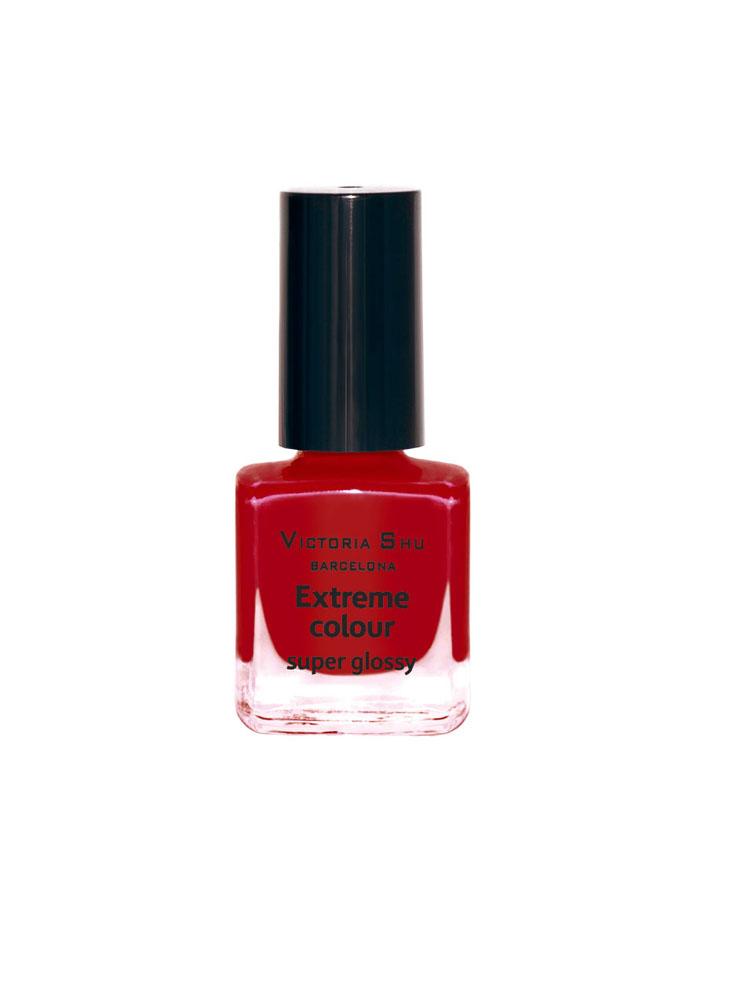 Victoria Shu Лак для ногтей Extreme Colour, тон № 245, 6 млV15144EXTREME COLOUR от VICTORIA SHU – это 35 ярких, смелых, соблазнительных оттенков. Модный тренд – матовая, насыщенная текстура. Любые цвета – на любой вкус, от нежных пастельных, интенсивных супермодных оранжевых, лиловых и оттенков фуксии до сенсационных красного и черного.