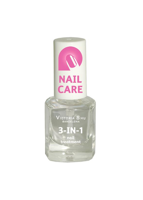 Victoria Shu Быстросохнущее универсальное средство для ногтей 3 IN 1, 6 мл лаки для ногтей victoria shu лак для ногтей extreme colour 221