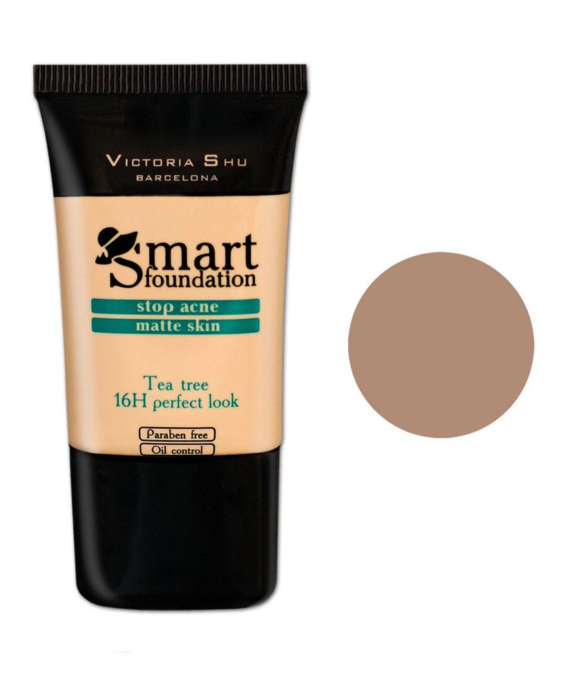 Victoria Shu Тональный крем Smart, тон № 304, 30 мл991V15581Кремообраз- ная текстура идеально выравнивает цвет лица, придавая макияжу законченный вид.