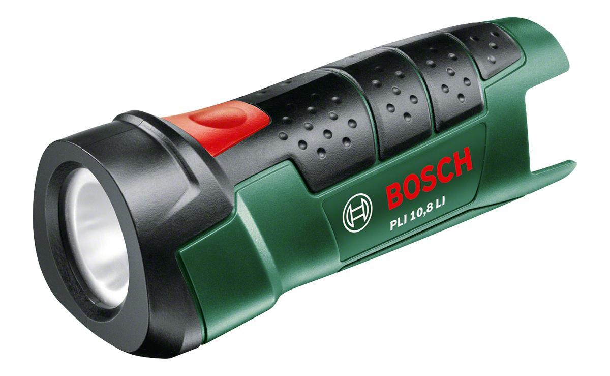 Bosch PLI 10,8 LI аккумуляторный фонарь (06039A1000) аккумуляторный перфоратор bosch gbh 180 li 4 0ач x2 0611911023