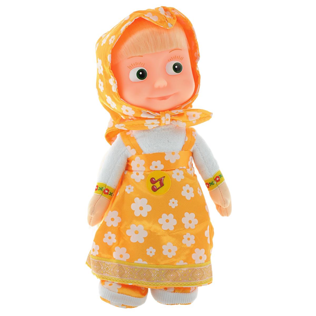 Мульти-Пульти Мягкая кукла Маша мульти пульти мягкая игрушка маша 30 см со звуком маша и медведь мульти пульти