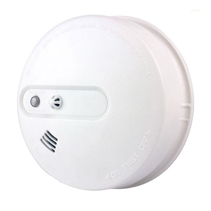 Sapsan DT-02 беспроводной пожарный (дымовой+тепловой) датчикDT-02Датчик Sapsan DT-02 может быть использован в доме, магазине, отеле, ресторане, офисном здании, школе, банке,библиотеке, складе или любом другом помещении. Прибор считывает информацию о дыме и резком изменениитемпературы с помощью инфракрасного излучателя и фотоприемника. Может работать как автономное устройство, оповещающее через встроенный динамик овозникновении задымления,а также как штатная единица в составе системы Sapsan GSM.