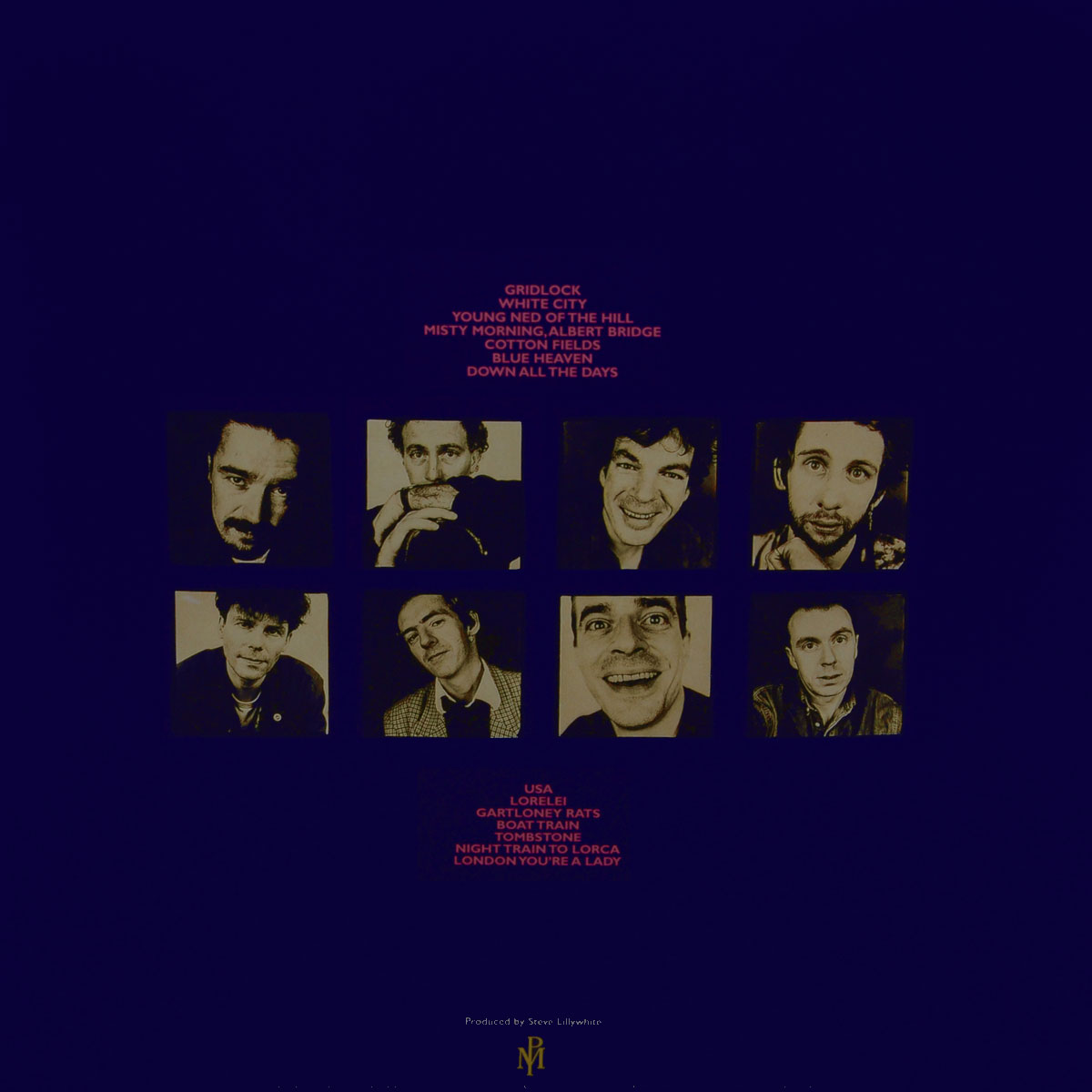 The Pogues.  Peace And Love (LP) Warner Music,All Rights Reserved