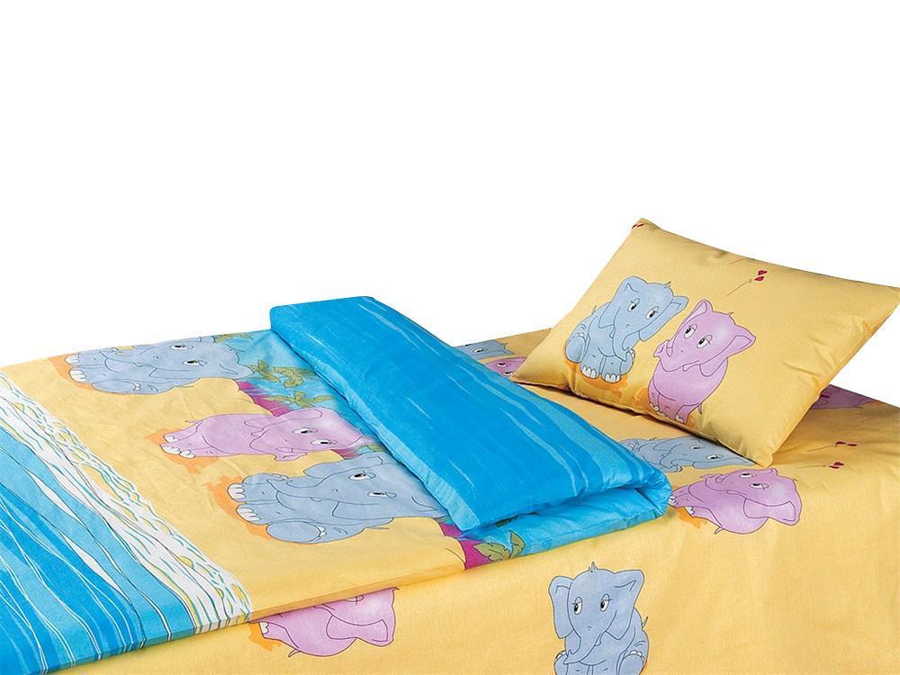 Постельное белье Облачко Слоники (детский КПБ, наволочки 40х60), Магия сна