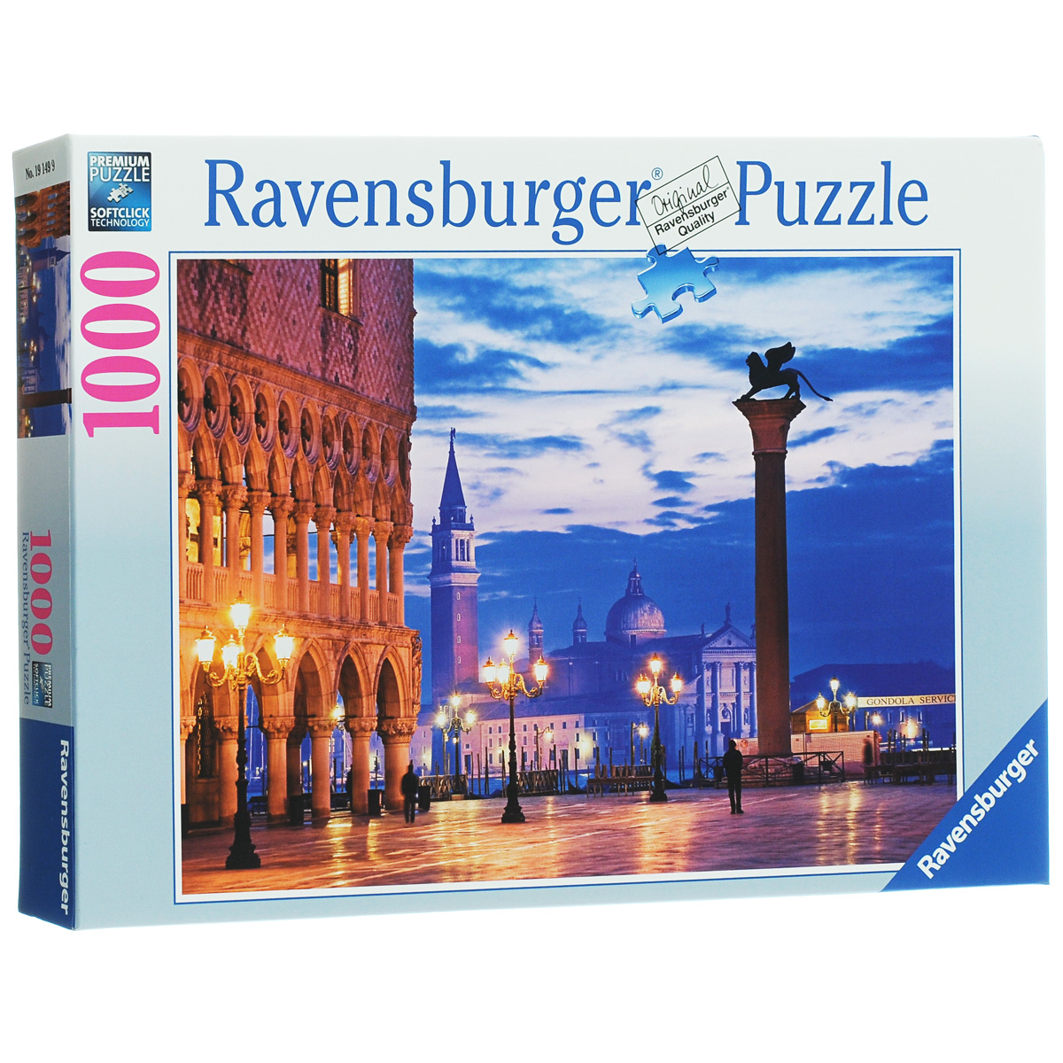 Ravensburger Площадь Сан-Марко. Пазл, 1000 элементов