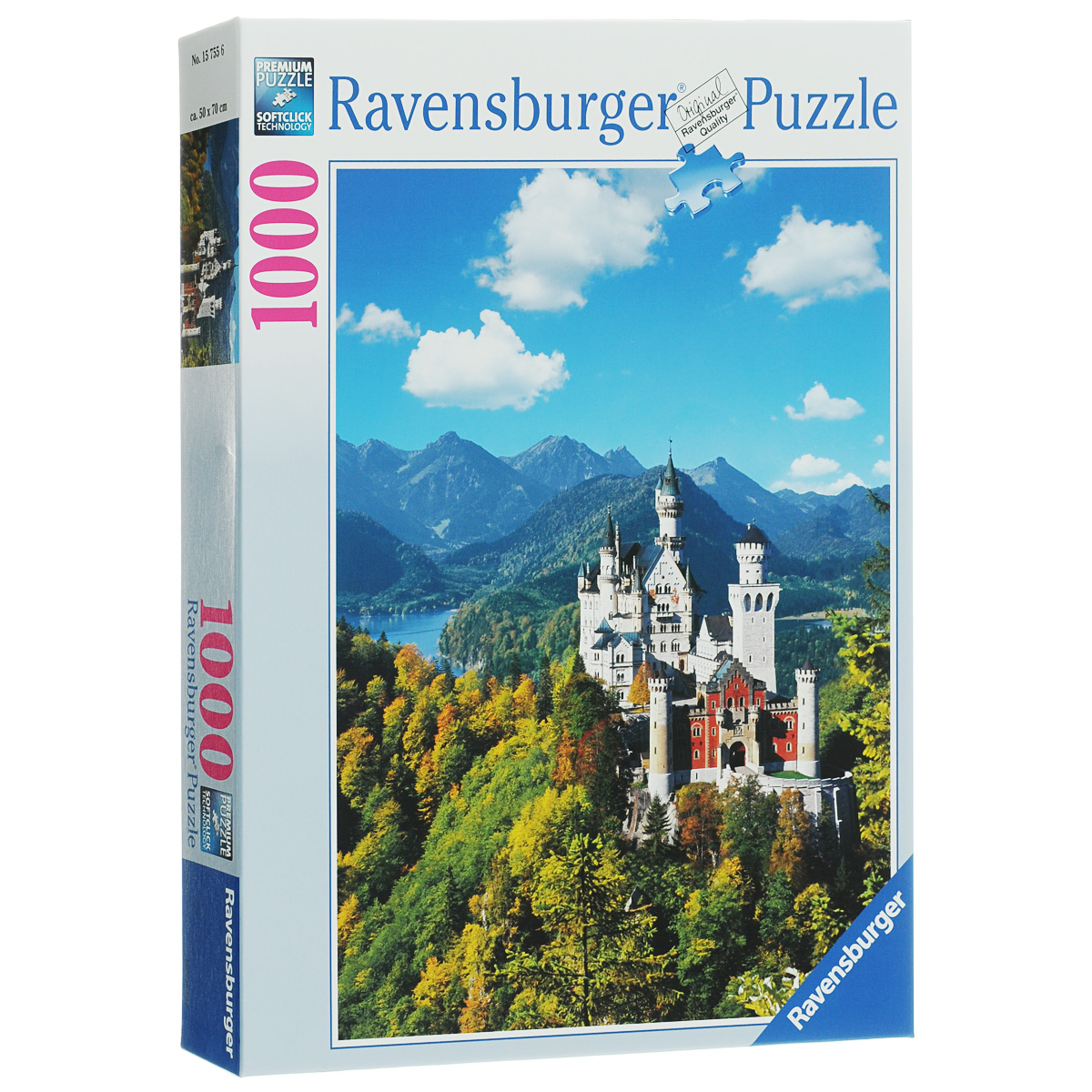 Ravensburger Нойшванштайн. Пазл, 1000 элементов