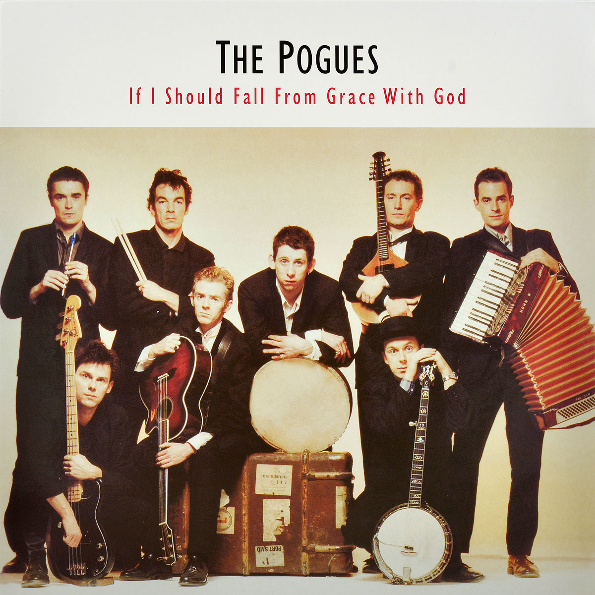 The Pogues The Pogues. If I Should Fall From Grace With God (LP)