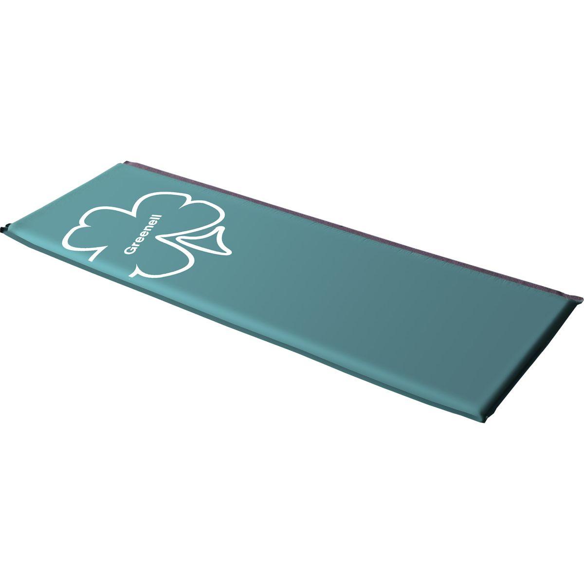 Коврик самонадувающийся Greenell Классик, цвет: зеленый, 190 см х 60 см х 5 см решетка гриль hot pot универсальная большая арт 61341 38 28 4 58см