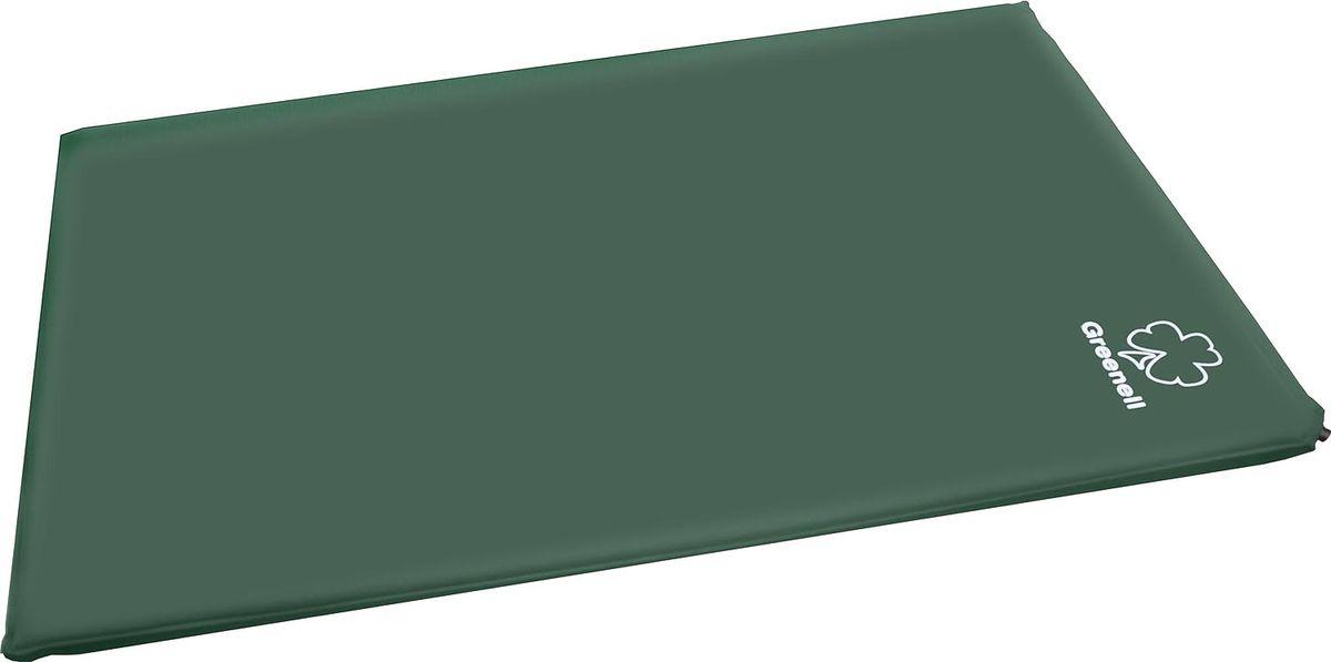 Коврик самонадувающий Greenell Комфорт Плюс, цвет: зеленый, 198 см х 130 см х 5 см95278-366-00Самонадувающийся коврик Greenell Комфорт Плюс с двойной шириной дает максимальный комфорт для семейного отдыха. Два металлических клапана позволяют его быстро надуть и сдуть очень много раз. Самонадувающийся коврик просто незаменим в походе. Он станет хорошим подарком для всех, кто любит отдыхать на природе. К коврику прилагаются две эластичные стяжки и чехол для переноски.