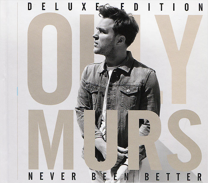 Олли Марс Olly Murs. Never Been Better. Deluxe Edition nokia n73 music edition