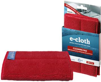 Подушечка для уборки E-cloth, 23 х 17 см20101Подушечка E-cloth изготовлена из полиэстера и полиамида. Комбинация высокой впитывающей и очищающей способностей позволяет использовать подушечку для удаления грязи, жира и бактерий. Удаляет свыше 99% бактерий. Выдерживает до 300 циклов стирки без потери эффективности.Состав: 80% полиэстер, 20% полиамид.Размер: 23 см х 17 см.