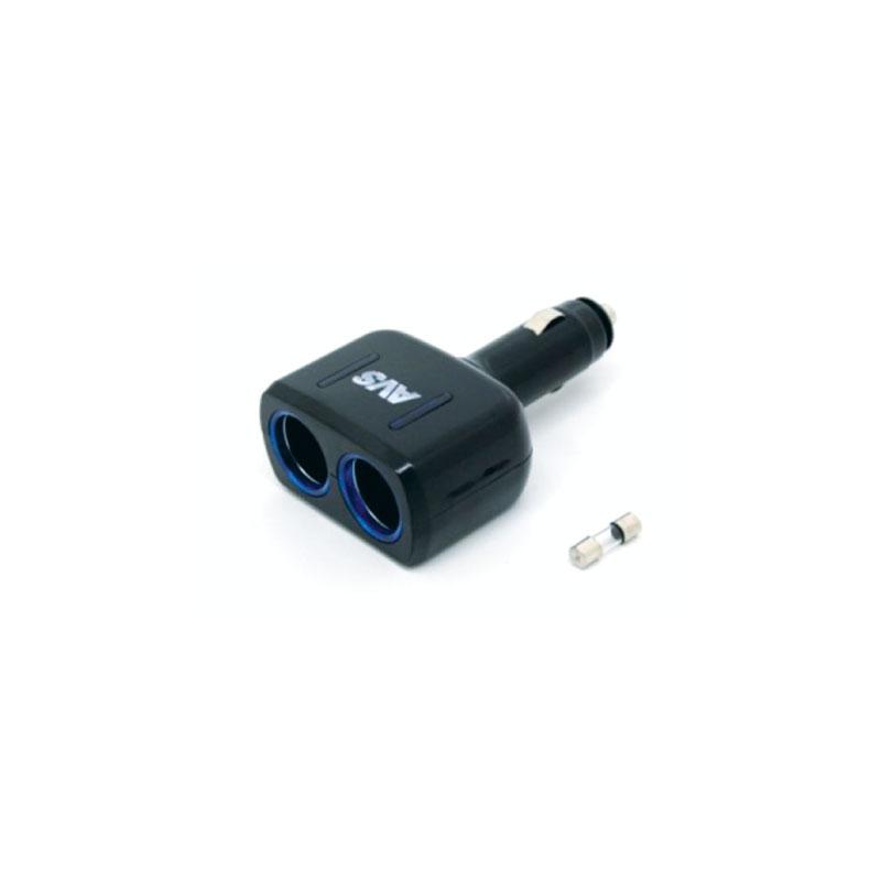 Разветвитель прикуривателя AVS CS205, со светодиодной подсветкой, 2 выхода, 12/24В43745Разветвитель прикуривателя AVS CS205, изготовленный из высокопрочного тугоплавкого пластика, позволяет подключать одновременно 2 прибора к автомобильной сети. Предназначен для автомобилей с напряжением бортовой сети 12/24В. Разветвитель оснащен светодиодным индикатором сети. Имеет защиту от короткого замыкания - плавкий предохранитель в корпусе штекера. Надежно фиксируется в гнезде прикуривателя и подходит для всех автомобилей.