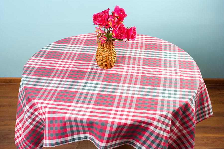 Скатерть Arloni Дэйли, прямоугольная, цвет: красный, 150  x 180 см скатерть arloni arloni mp002xu0du48