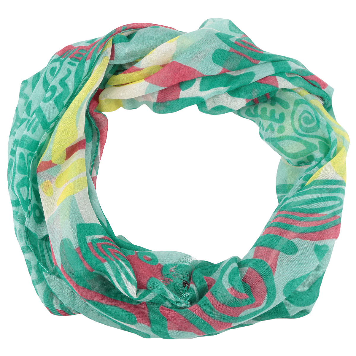 Палантин Passigatti, цвет: зеленый. 3402941-15. Размер 70 см х 200 см
