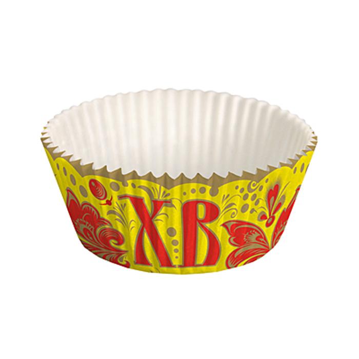 Набор бумажных форм для кексов Home Queen Народные узоры, диаметр 7,3 см, 25 шт набор бумажных форм для кексов home queen народные узоры диаметр 7 3 см 25 шт
