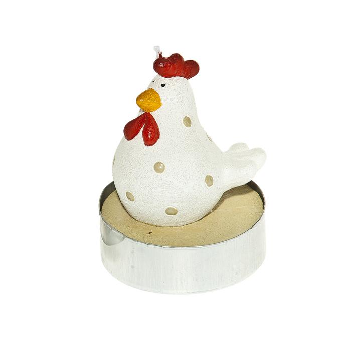 Набор свечей Home Queen Красивые курочки, 2 шт64348Набор свечей декоративных Home Queen Красивые курочки - отличный подарок, подчеркивающий яркую индивидуальность того, кому он предназначается. Свечи выполнены из высококачественного воска в форме курочек. Такой набор свеча украсит интерьер вашего дома или офиса в преддверии Пасхи. Оригинальный дизайн и красочное исполнение создадут праздничное настроение.Комплектация: 2 шт. Размер свечи (без учета фитиля): 6 см х 6 см х 7,5 см.
