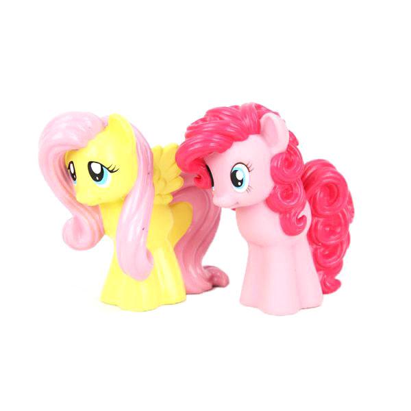 My Little Pony Набор игрушек для ванны Флаттершай и Пинки Пай игрушки для ванны tolo toys набор ведерок квадратные