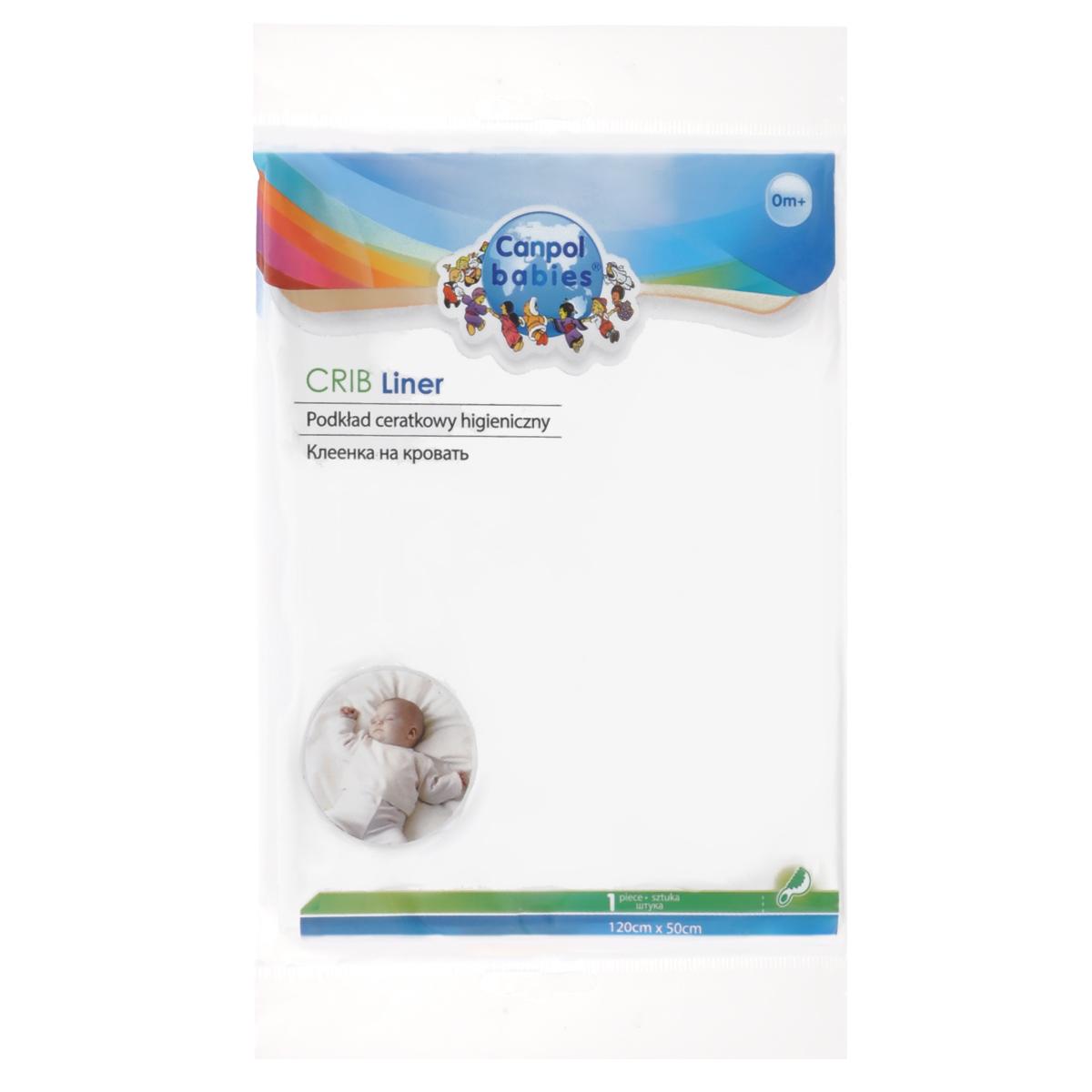 Canpol Babies Гигиеническая клеенка на кровать, 120 см х 50 см