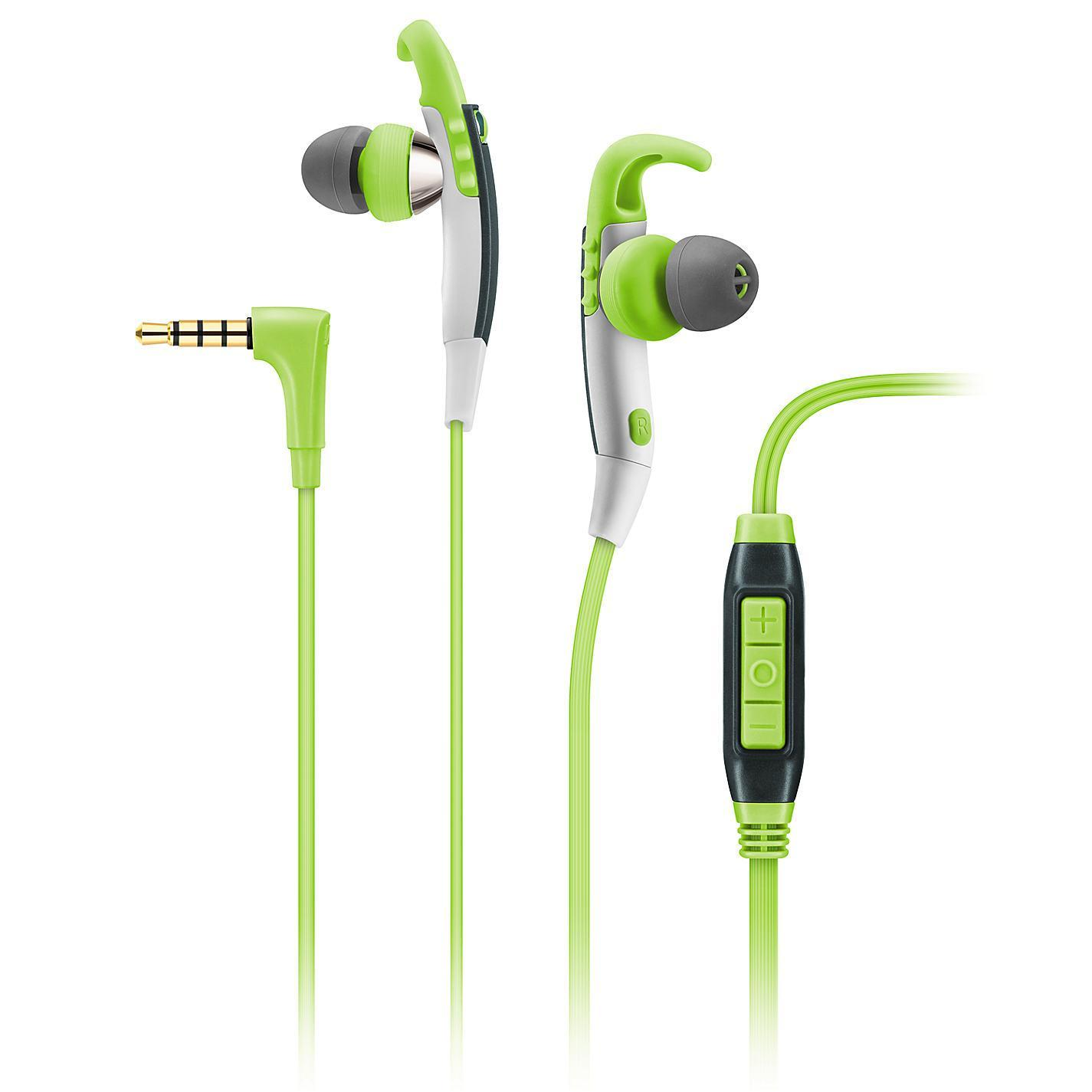Sennheiser CX 686G Sports, Green наушники506188Инновационный механизм крепления Slide-to-Fit в наушниках Sennheiser CX 686G гарантирует надежную и комфортную посадку во время занятий спортом, а высокопроизводительные драйверы, генерируя великолепное стереозвучание, подвигнут Вас на новые спортивные достижения. Легкие, но достаточно прочные наушники CX 686G способны противостоять высоким нагрузкам, а благодаря особой конструкции ушных амбушюров, окружающий шум не будет отвлекать Вас от тренировки