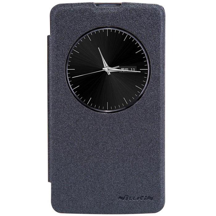 Nillkin Sparkle Leather Case чехол для LG D295 (L Fino), Black2000000029016Чехол Nillkin Sparkle Leather Case выполнен из высококачественного поликарбоната и экокожи. Он надежно фиксирует и защищает смартфон при падении. Обеспечивает свободный доступ ко всем разъемам и элементам управления.
