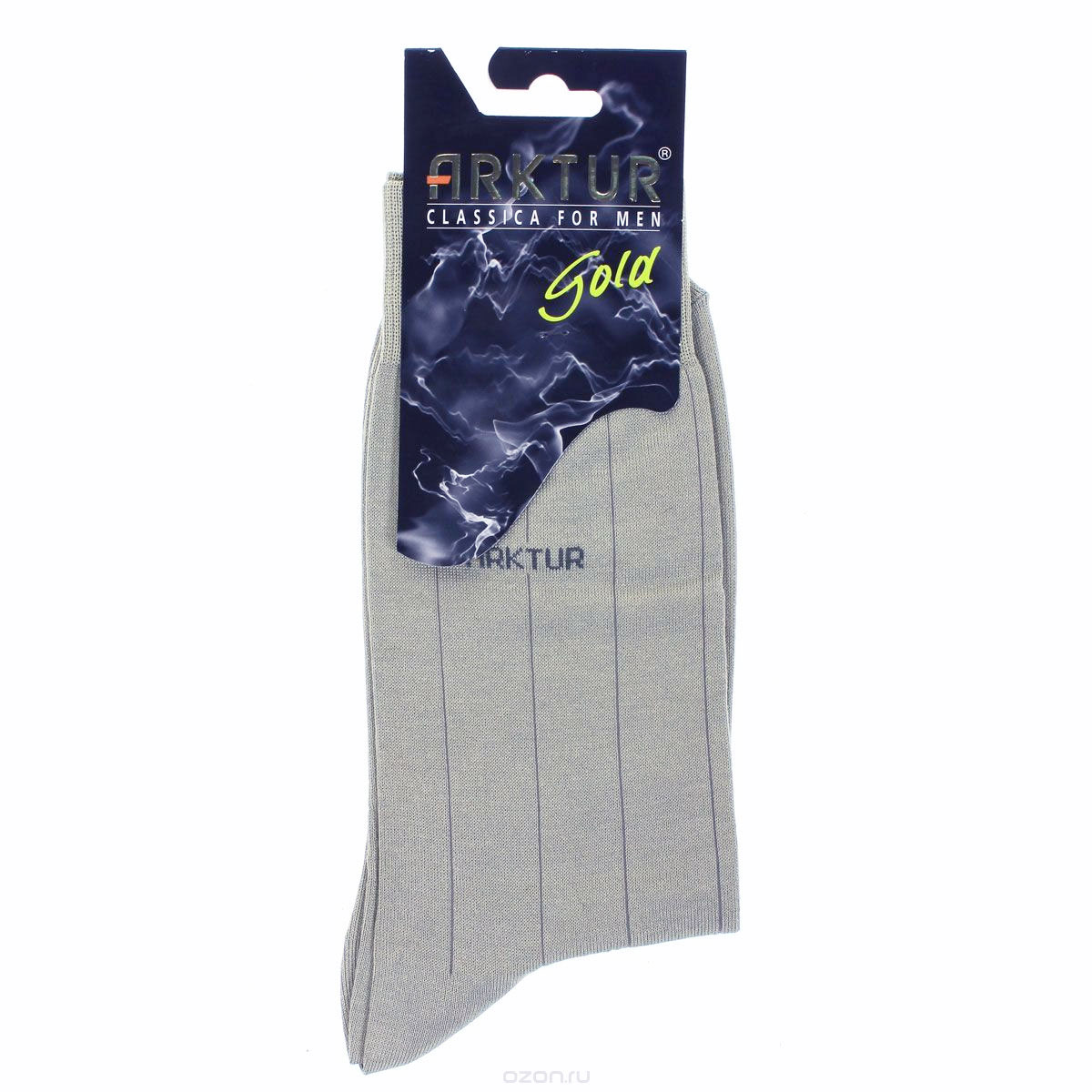 Носки мужские Arktur, цвет: светло-серый. Л151. Размер 44/45 arktur носки