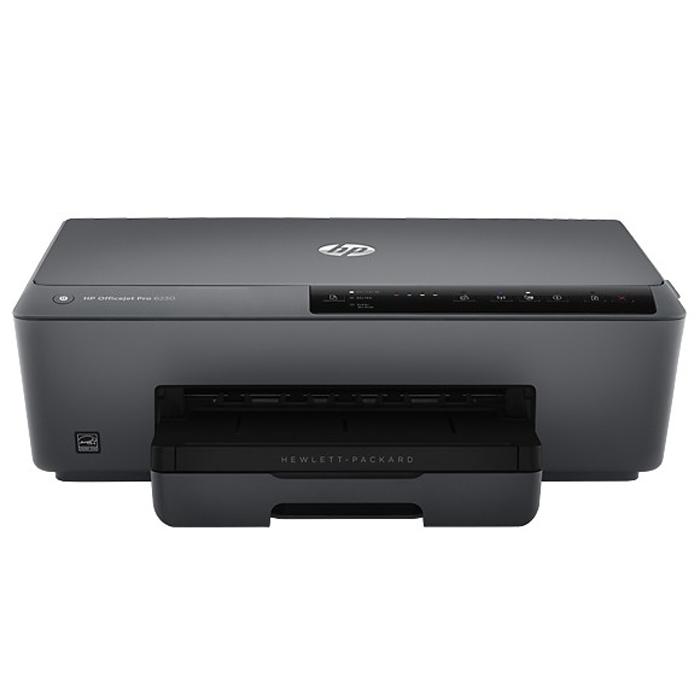 HP Officejet Pro 6230 струйный принтер (E3E03A)E3E03AПринтеры HP Officejet Pro 6230 отличаются высокой производительностью и возможностями мобильной печати, а также подходят для работы дома, в офисе и в пути.Профессиональная цветная печать — дешевле, чем при использовании лазерных устройств.Оригинальные пигментные чернила HP обеспечивают яркость, долговечность и профессиональное качество отпечатков.Раздельные оригинальные струйные картриджи HP увеличенной емкости — выгодное решение для регулярной печати.Оцените прирост в производительности: устройство обеспечивает скорость печати до 18 страниц в минуту при в черно-белом режиме и до 10 в цветном режиме.Двусторонняя печать документов и цветных брошюр без полей позволяет вдвое сократить расходы на бумагу.Теперь для беспроводной печати с мобильных устройств больше не нужен маршрутизатор или доступ к локальной сети.HP ePrint дает возможность печатать документы, фотографии и другие материалы там, где это необходимо.Удобное подключение к локальной сети и Интернету с помощью разъема Ethernet 10/100 или беспроводного соединения.Бесплатное мобильное приложение HP All-in-One Printer Remote помогает повысить производительность с помощью функции высококачественного сканирования с мобильных устройств.Лоток на 225 листов позволяет реже загружать бумагу и легче справляться с объемными заданиями печати.Надежный принтер с выработкой до 15 000 страниц в месяц — идеальное решение для цветной печати.Обеспечьте максимальное качество. HP рекомендует использовать бумагу ColorLok для получения быстровысыхающих отпечатков, устойчивых к выцветанию в течение многих десятилетий.Обеспечивает экономию ресурсов без ущерба для производительности.До 50 % меньше энергопотребления по сравнению с большинством моделей цветных лазерных МФУ.Потребление расходных материалов и упаковки на 80 % ниже, чем у лазерных устройств. При простое принтеры ePrinter выключаются автоматически.Бесплатная утилизация оригинальных струйных картриджей HP поможет снизить вред