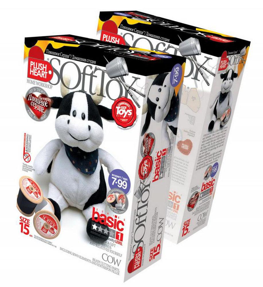 Набор для создания мягкой игрушки Корова набор для создания мягкой игрушки настенька