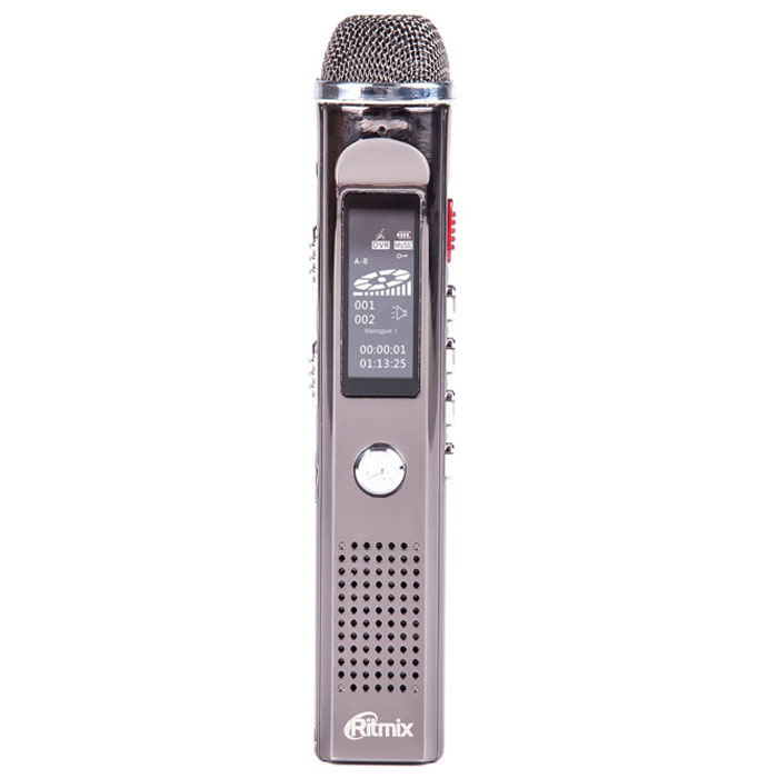 цена на Ritmix RR-150 4Gb диктофон