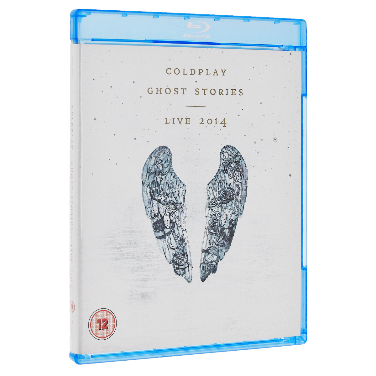 Coldplay. Ghost Stories. Live 2014 (Blu-ray + CD) peter gabriel live in athens 1987 play the videos blu ray dvd