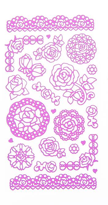 Набор декоративных наклеек Home Queen Цветочное настроение. Розы, цвет: розовый, 23 шт68233_2Набор наклеек Home Queen Цветочное настроение. Розы прекрасно подойдет для оформления творческих работ. Их можно использовать для украшения пасхальных яиц, упаковок, подарков и конвертов, открыток, декорирования коллажей, фотографий, изделий ручной работы и предметов интерьера. Наклейки выполнены из ПВХ. Задняя сторона клейкая. В наборе - 23 наклейки. Такой набор украшений создаст атмосферу праздника в вашем доме. Комплектация: 23 шт.Средний размер наклейки: 4,5 см х 4 см.