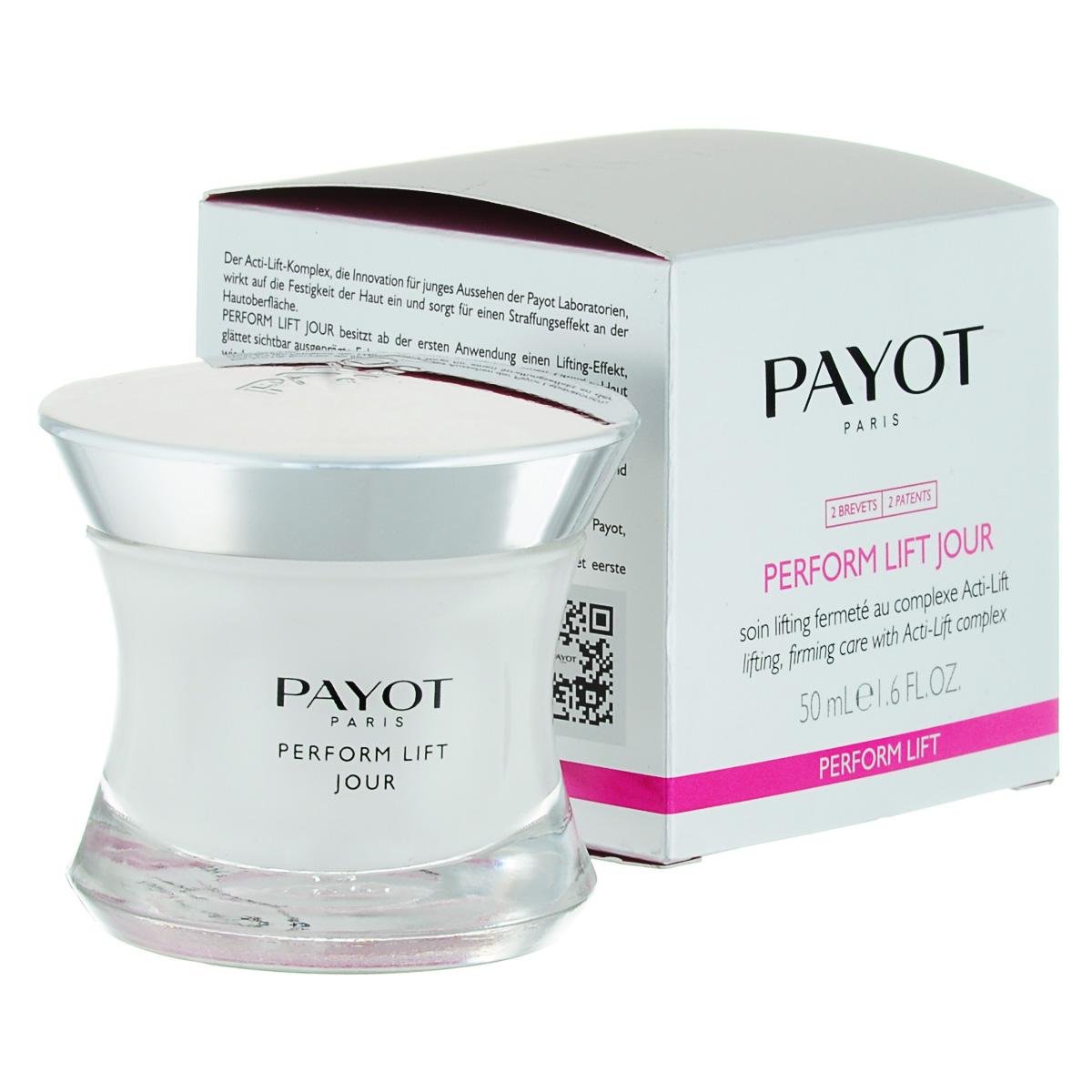 Payot Укрепляющее и подтягивающее средство Perform Lift для лица 50 мл65092093Крем подтягивает и разглаживает кожу; возвращает коже упругость и эластичность; заметно разглаживает глубокие морщины.Наносите крем утром на очищенную кожу лица.