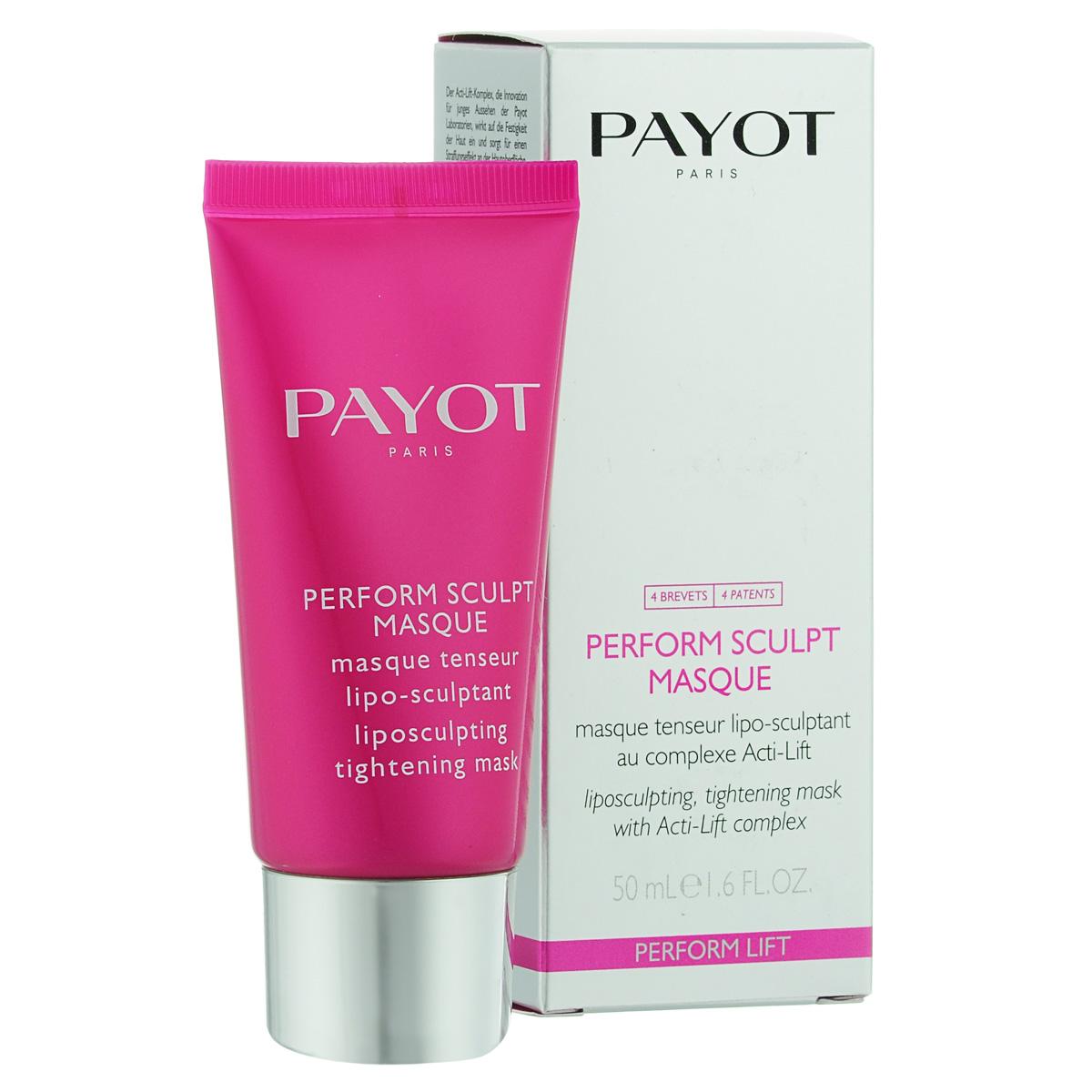 Payot Моделирующая маска Perform Lift для лица с эффектом лифтинга 50 мл65092176Маска прекрасно подтягивает и разглаживает кожу; снимает напряжение; делает контур лица более четким.Используйте маску 1-2 раза в неделю. Нанесите толстым слоем на кожу лица, шеи и декольте на 15 минут, удалите излишки салфеткой, далее используйте тоник.
