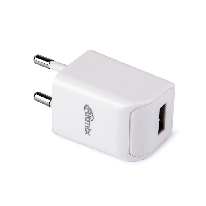 Ritmix RM-111 сетевое зарядное устройство15117498Ritmix RM-111 – это универсальное зарядное устройство для различных типов портативной электроники, работающее от электрической сети 220 В.