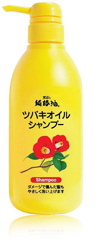 Kurobara Шампунь Tsubaki Oil Чистое масло камелии для восстановления поврежденных волос с маслом камелии 500 мл