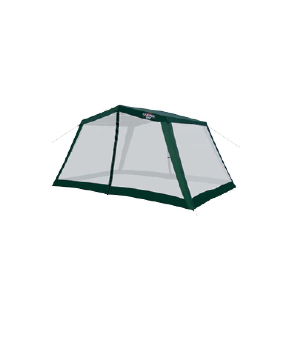 """Классическая модель тента с двухскатной крышей. Campack Tent """"G-3301"""" имеет улучшенный каркас из стальных труб с толщиной стенки 0,8 мм. Два входа обеспечивают комфортное использование. Имеет противомоскитную сетку, состоящую из множества маленьких ячеек, не позволяющих насекомым проникать внутрь тента."""