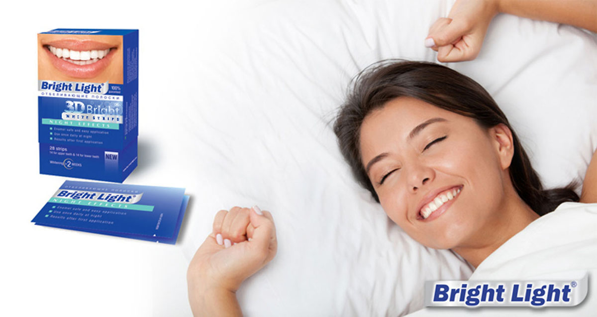 Отбеливающие полоски для зубов Bright Light