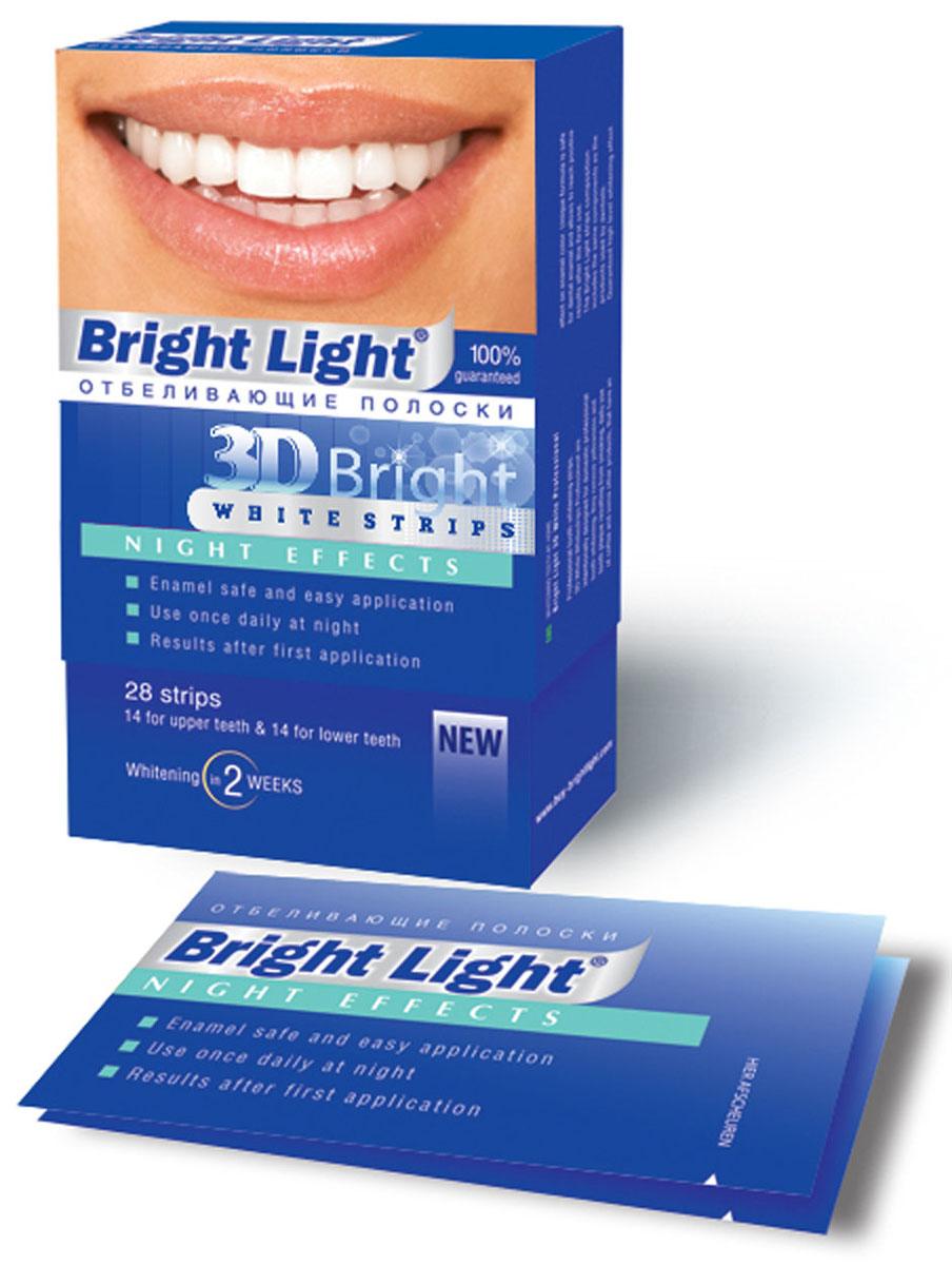 Фото - Отбеливающие полоски для зубов Bright Light 3D Bright Night Effects creative fashion bright light small alarm clock