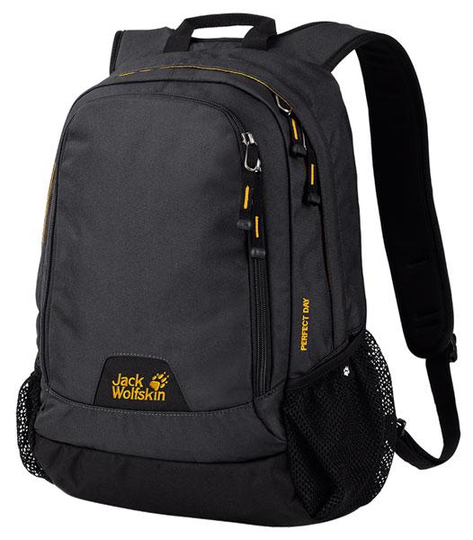 Рюкзак Jack Wolfskin Perfect Day, цвет: черный. 24040-635 рюкзак jack wolfskin dayton цвет черный 2002481 6000