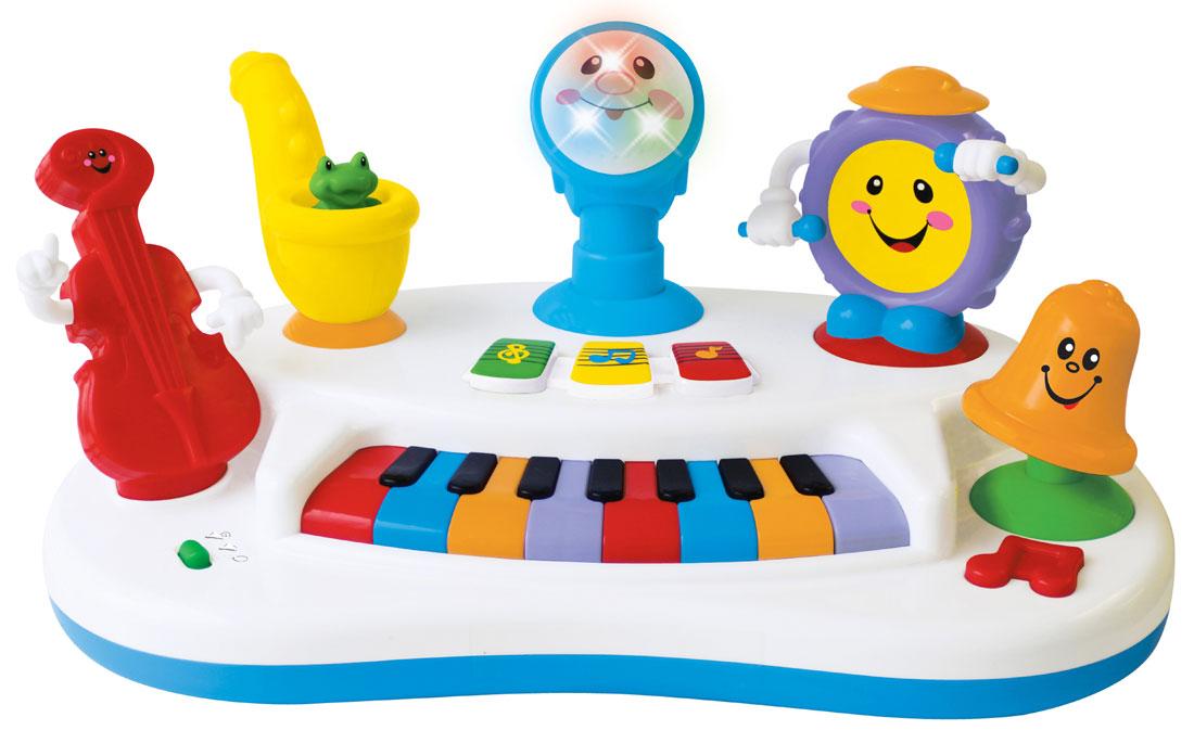 Развивающая музыкальная игрушка Kiddieland  Пианино Рок-банда
